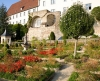 Der Pomeranzengarten am Schloss